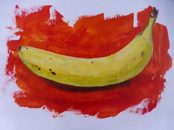 Obrazová reprodukce Banana