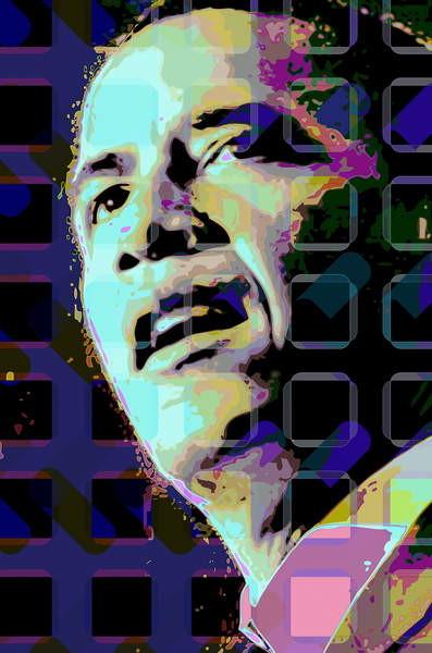 Obrazová reprodukce Barack Obama