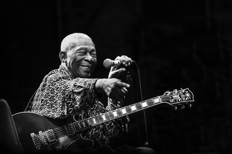 Kunst fotografie BB King