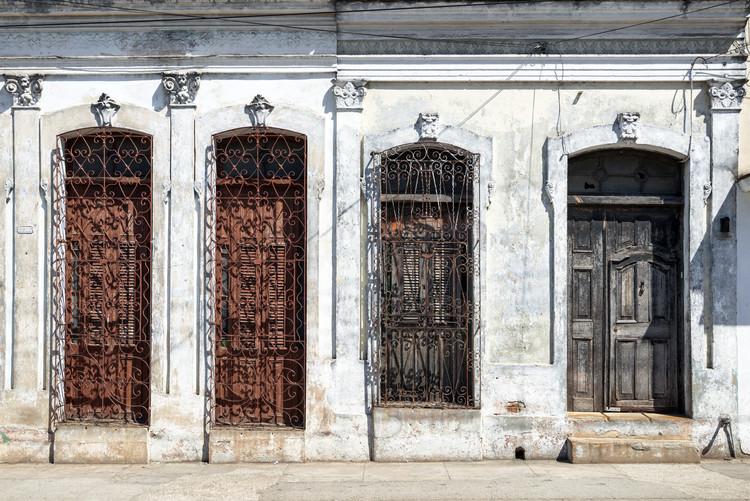 Umělecká fotografie Beautiful Cuban Facade