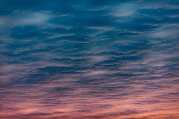Kunstfotografi Beauty sunset clouds