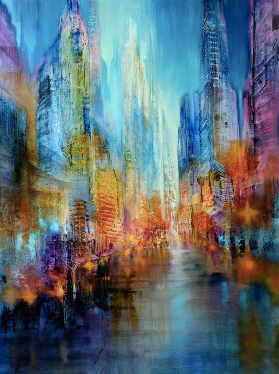 Arte fotográfico Big city
