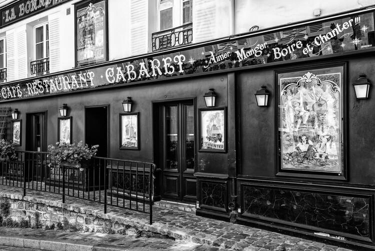 Artă fotografică Black Montmartre - Cabaret