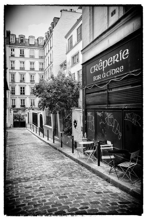 Художня фотографія Black Montmartre - Creperie