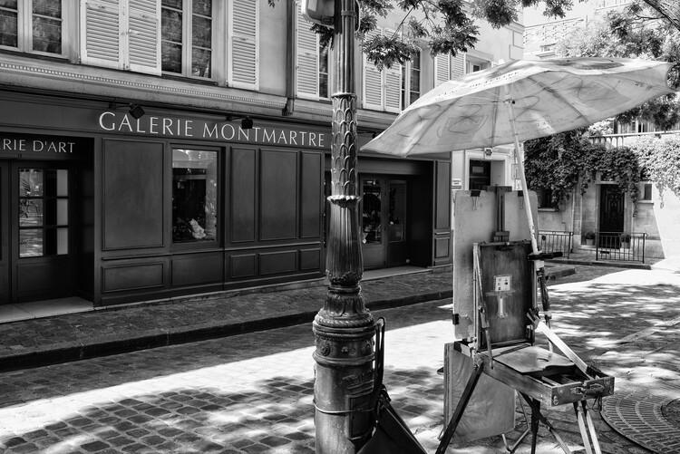 Konstfotografering Black Montmartre - Galerie d'Art