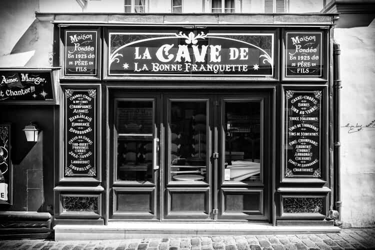 Konstfotografering Black Montmartre - La Cave