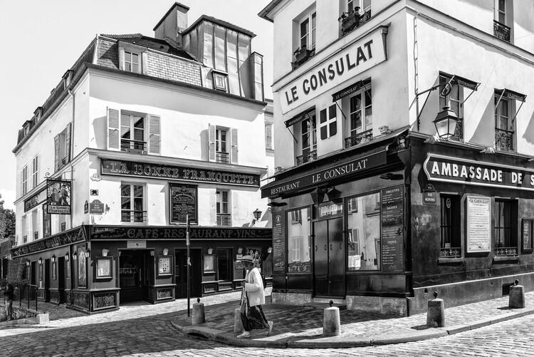 Konstfotografering Black Montmartre - Le Consulat