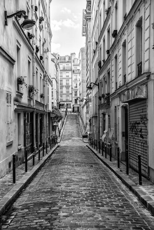 Художня фотографія Black Montmartre - Montmartre Street View