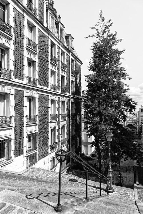 Kunstfotografie Black Montmartre - Paris Architecture