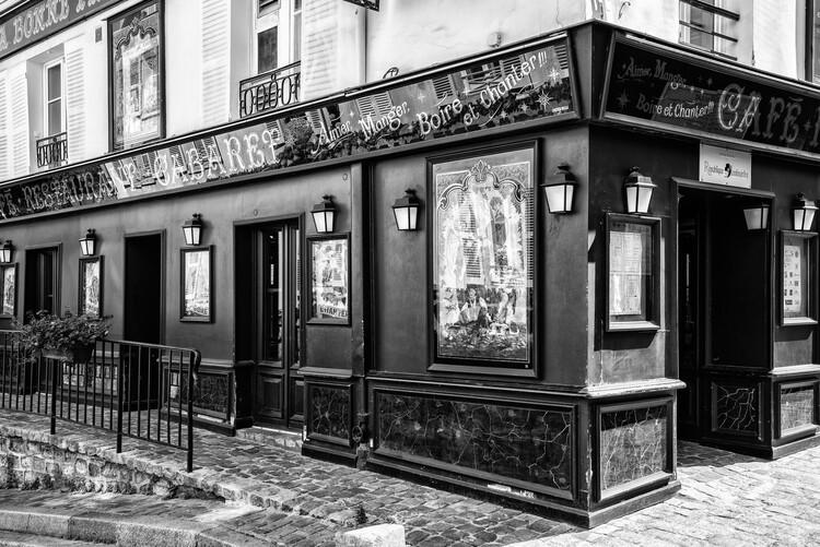 Artă fotografică Black Montmartre - Paris Cabaret