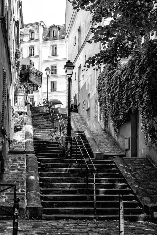 Художня фотографія Black Montmartre - Paris Step by Step