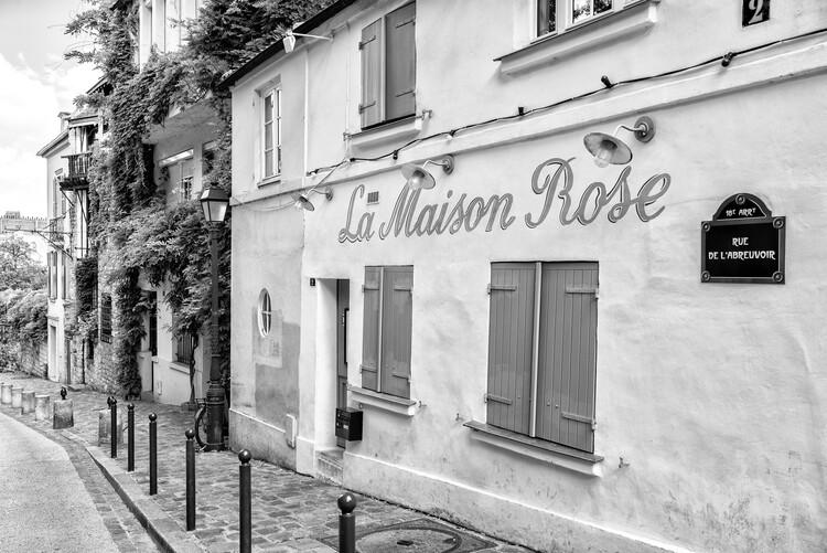 Photographie artistique Black Montmartre - Rue de l'Avreuvoir