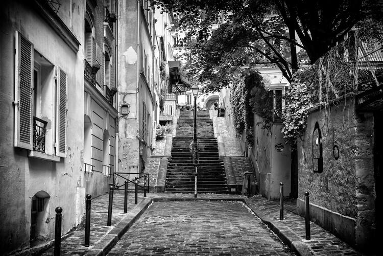 Художня фотографія Black Montmartre - Walk in Montmartre