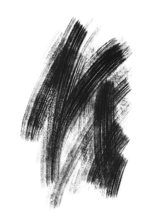 Arte fotográfico Black sketch