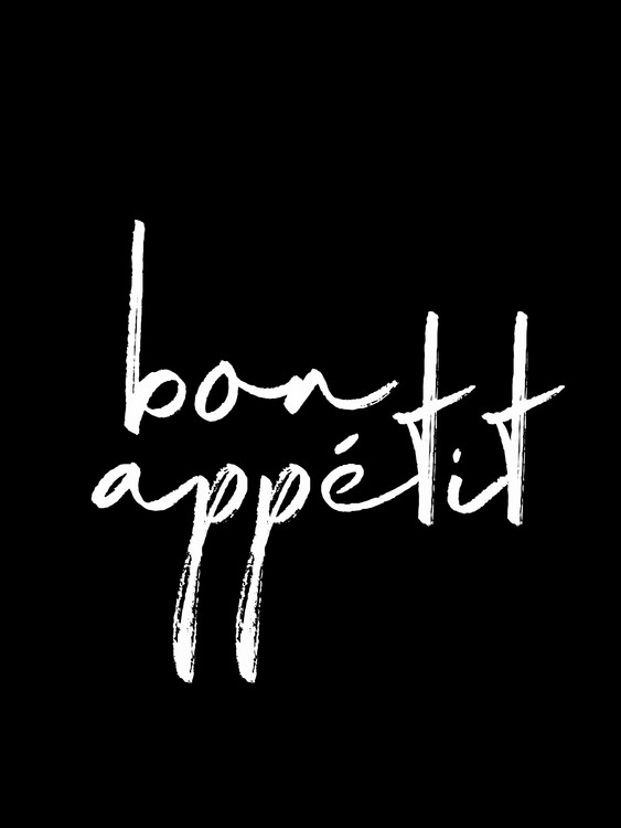Εκτύπωση τέχνης κατόπιν ζήτησης Bon appetit