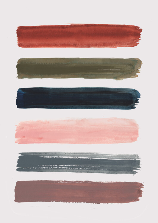 Umelecká fotografia Brush strokes
