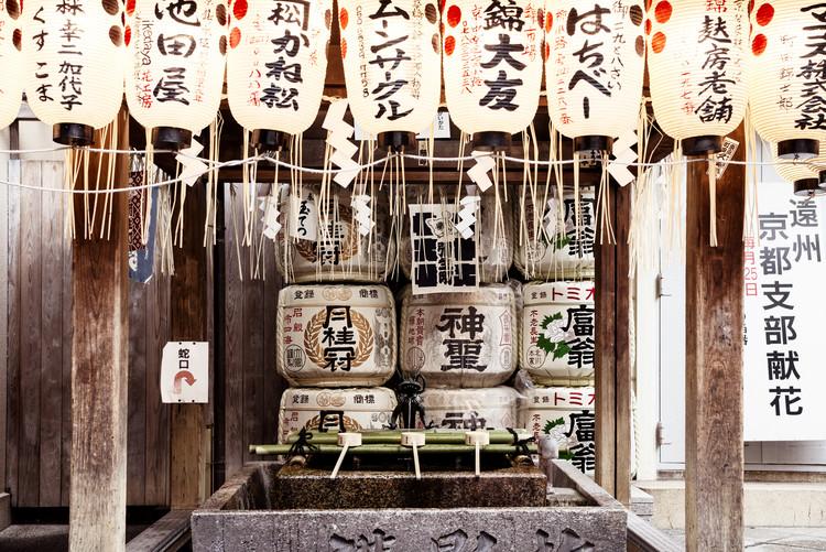 Umelecká fotografia Buddhist Temple