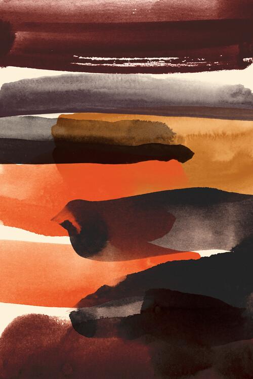 Ilustrace Burnt sienna