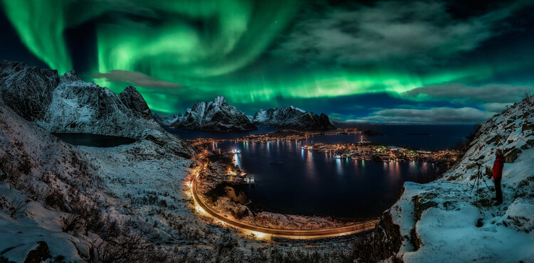 Fotografia artistica Chasing the Northern Lights