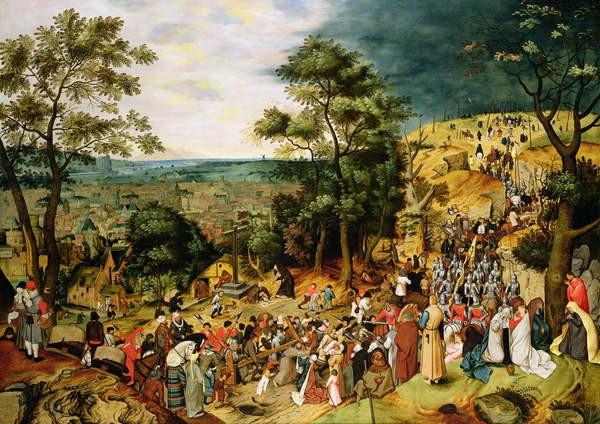 Reproducción de arte Christ on the Road to Calvary, 1607