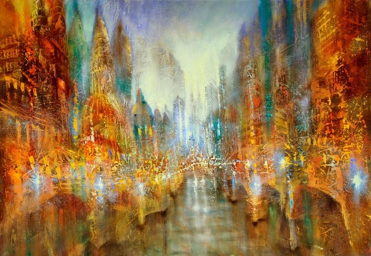 Umelecká fotografia City of lights