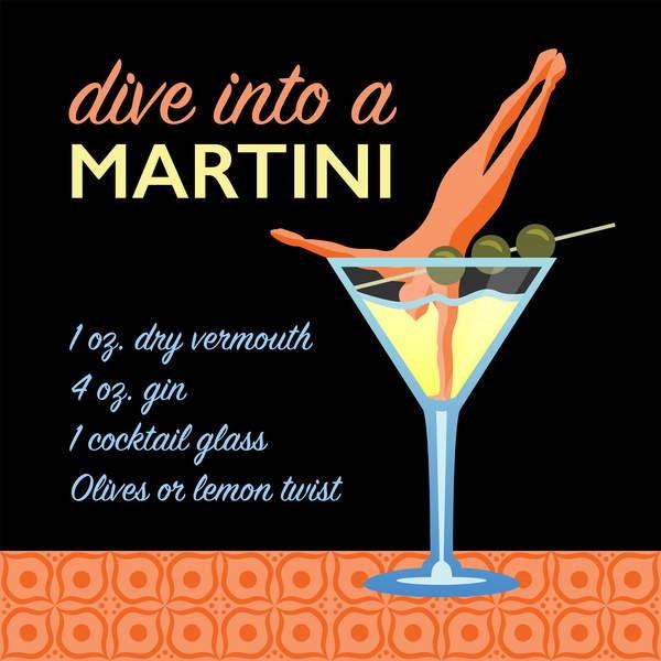 Obrazová reprodukce Classic Martini