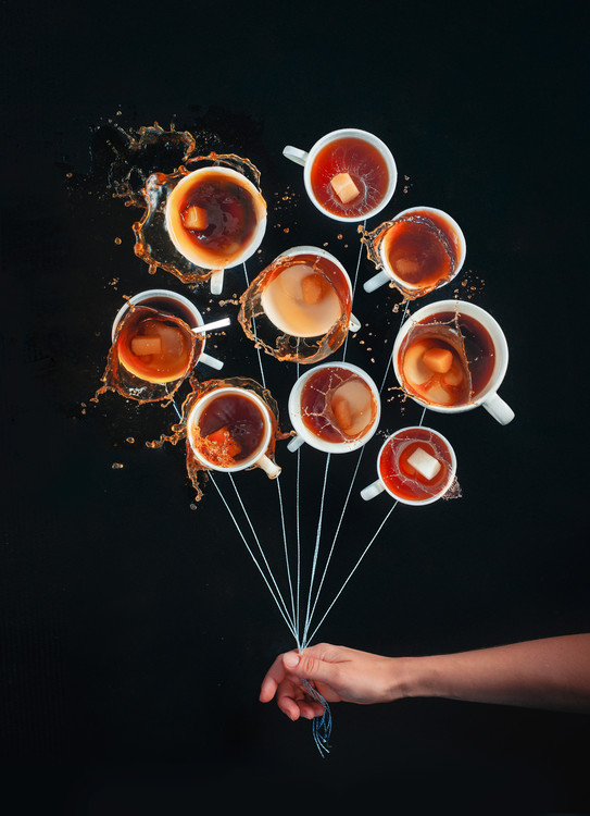 Художествена фотография Coffee Balloons