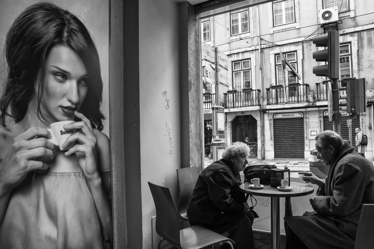Kunstfotografi Coffee´s conversations