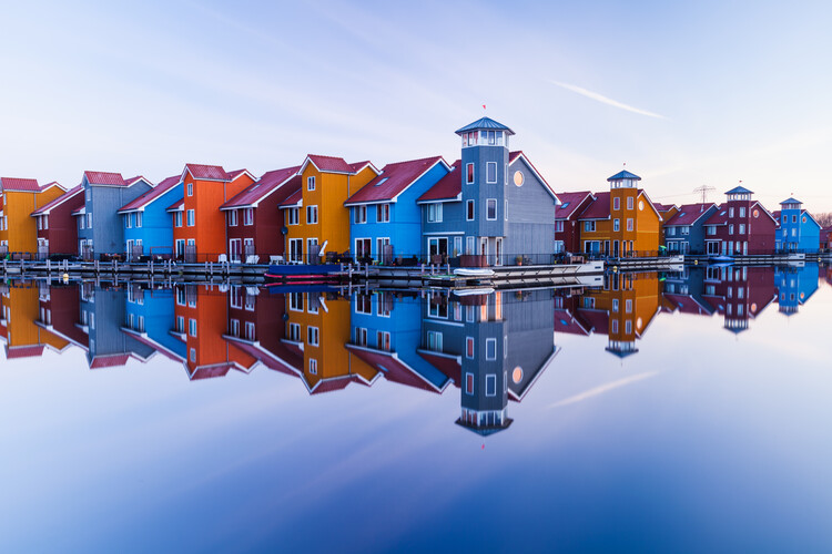 Kunstfotografi Colored homes