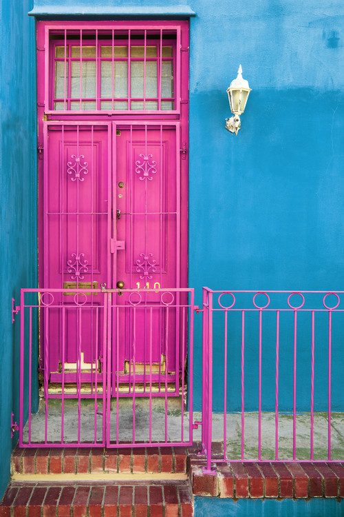 Umělecká fotografie  Colors Gateway Deep Pink & Powder Blue