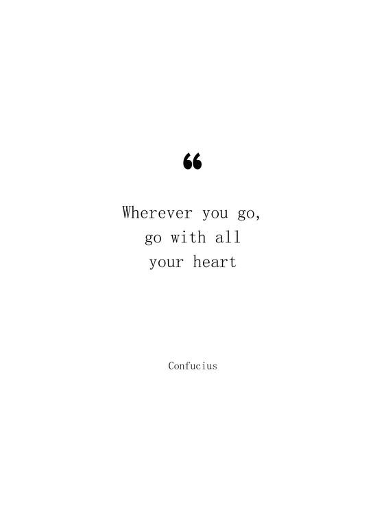 Kunst fotografie Confucius quote