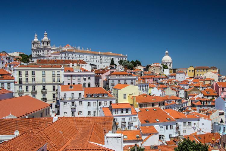 Umělecká fotografie Davidovo foto Lisabonu