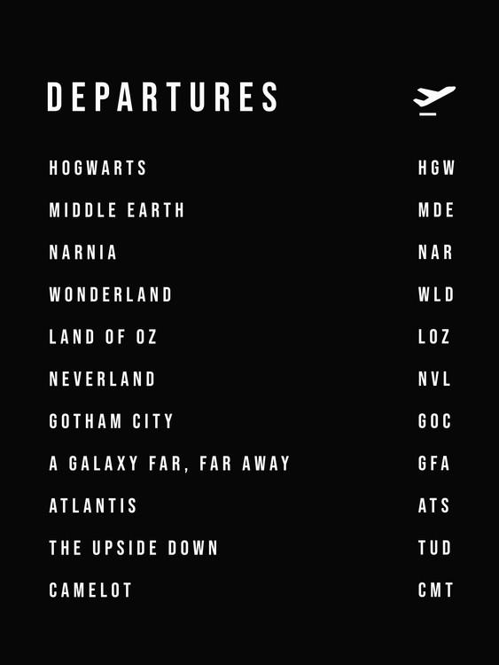 Umelecká fotografia Departures