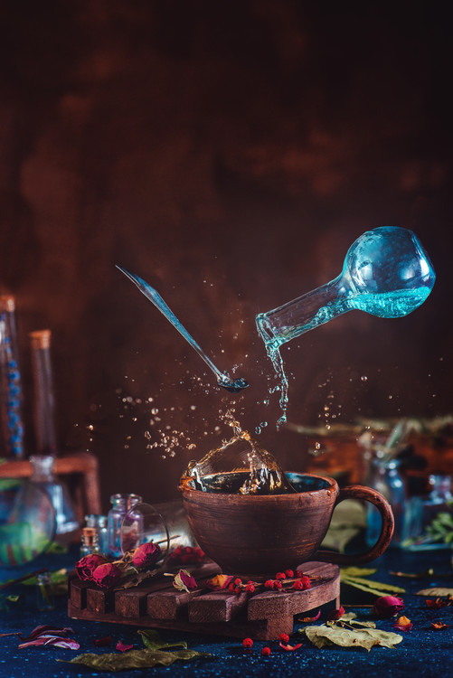 Kunstfotografie Drop of Potion