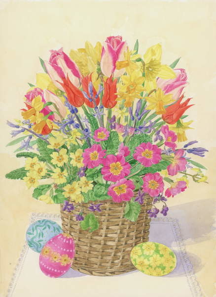 Obrazová reprodukce Easter Basket, 1996