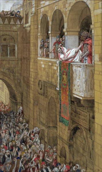 Reproducción de arte  Ecce Homo, illustration for 'The Life of Christ', c.1886-94