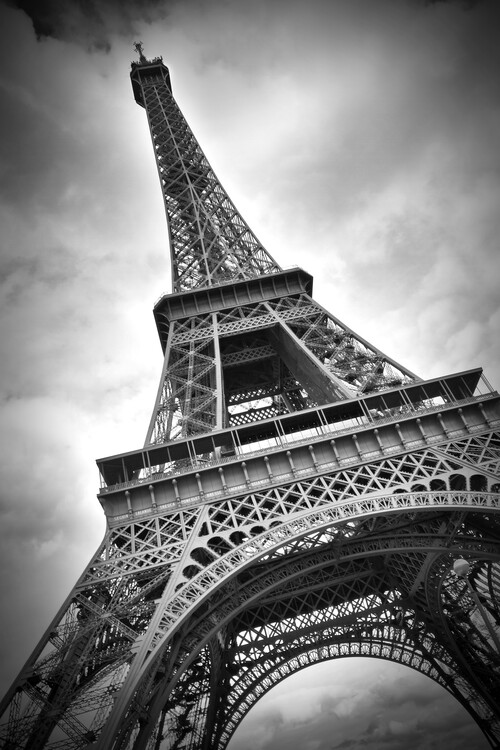 Photographie artistique Eiffel Tower DYNAMIC