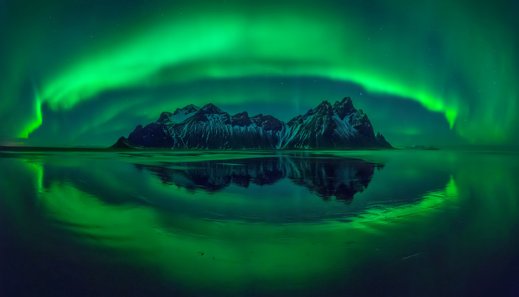 Художествена фотография Eye of Stokksnes