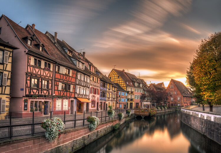 Kunstfotografie Fall in Colmar