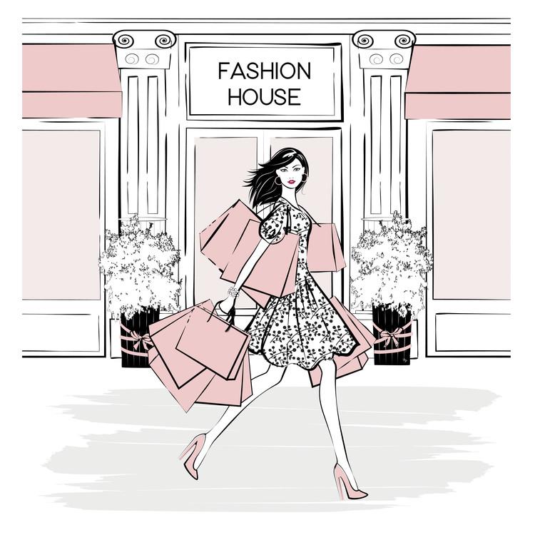 Umělecká fotografie Fashion House