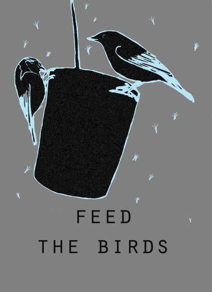 Obrazová reprodukce Feed the birds