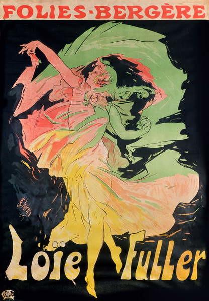 Obrazová reprodukce  Folies Bergere: Loie Fuller, France, 1897