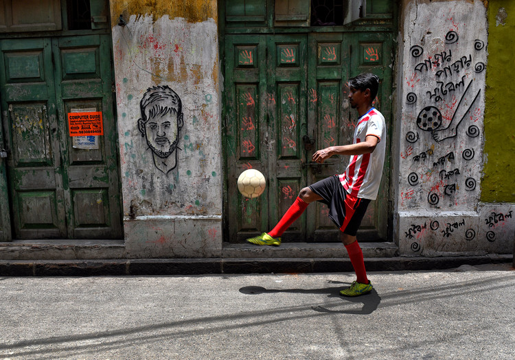 Photographie d'art Football Mania