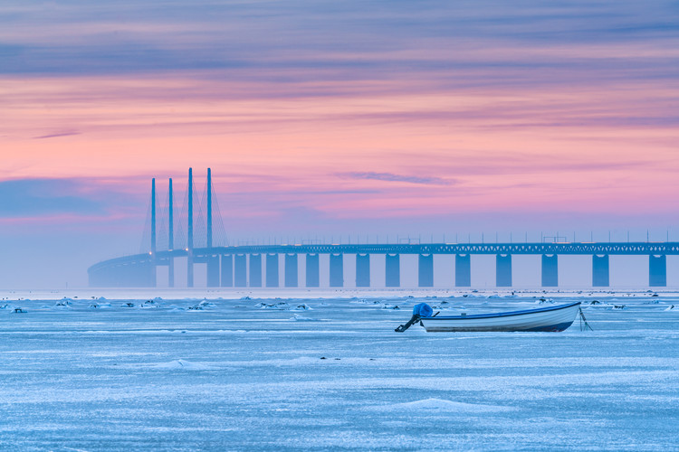 Kunstfotografi Frozen sea