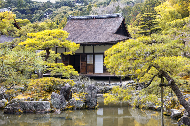 Kunstfotografie Ginkakuji Temple