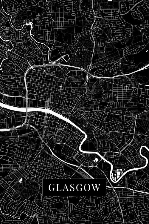 Művészeti fotózás Glasgow black