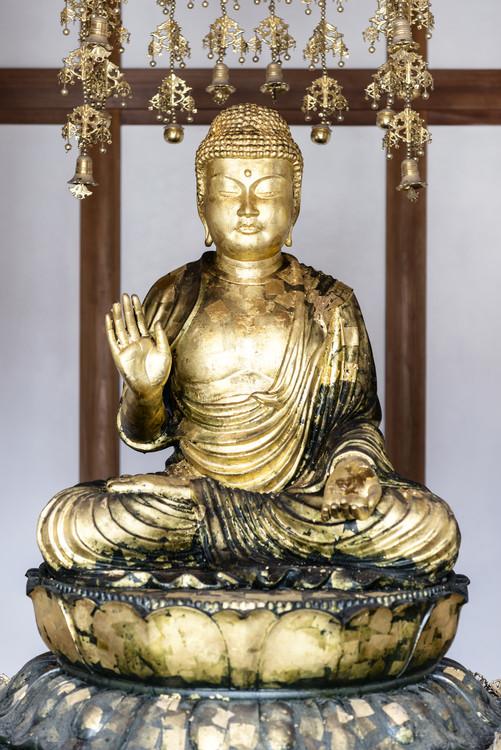 Umelecká fotografia Golden Buddha