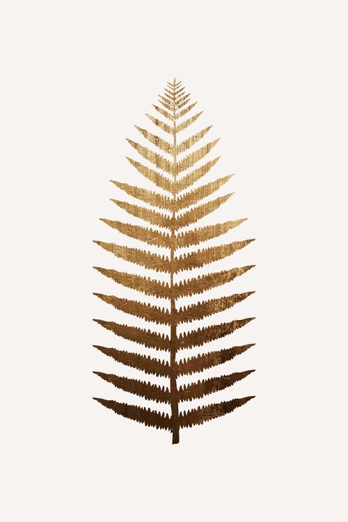 Ilustrace Golden leaf No.7