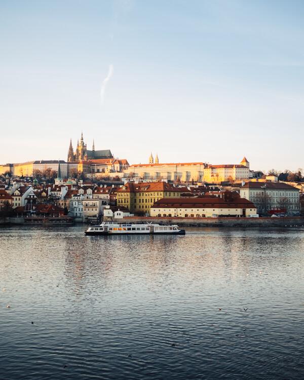 Artă fotografică Golden Prague