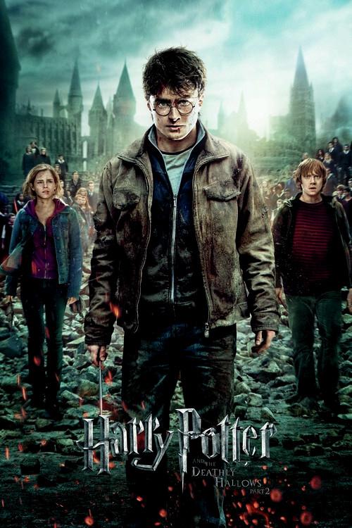 Plakat Harry Potter - Dødsregalierne